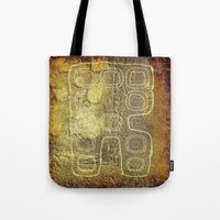 android Tote Bags featuring ANDROID by lucborell
