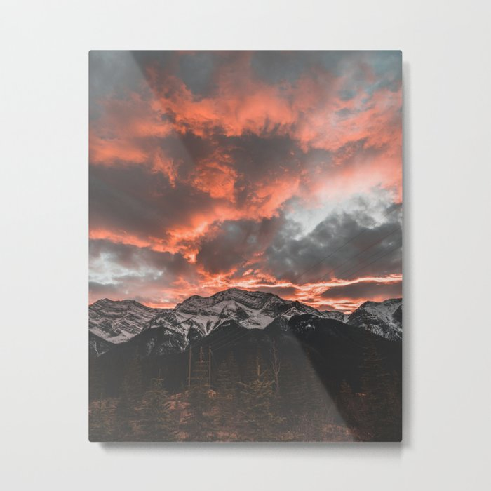 Pure Fire Metal Print