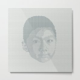 Tessellated Portraits - T.A. Metal Print