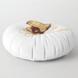 Self-made Millionaire Gold Bars Floor Pillow