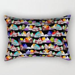 all my little houses Rectangular Pillow