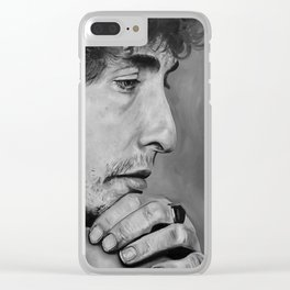 Bob Dylan Clear iPhone Case