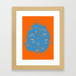 float cluster Framed Art Print