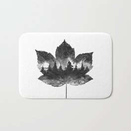 Leaf of the forest Bath Mat
