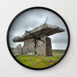 Poulnabrone Dolmen Wall Clock