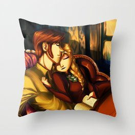 Cozy Evening Throw Pillow