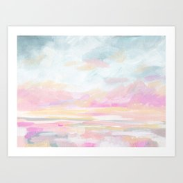 So Alive - Bright Ocean Seascape Art Print