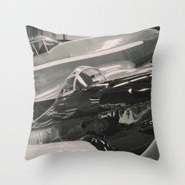 Vintage planes Throw Pillow