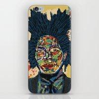 basquiat iPhone & iPod Skins featuring BASQUIAT by Blaz Rojs