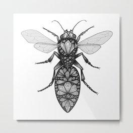 Bug 4 Metal Print