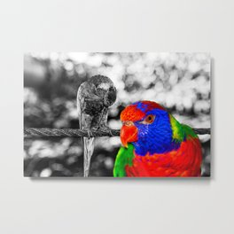 The bird in paradise Metal Print