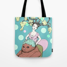 Purr Hairdresser Tote Bag