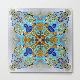 Mix&Match Byzantine Mosaic 03 Metal Print