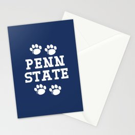 Penn State Nittany Lions Paw Stationery Cards