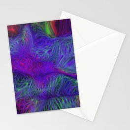 swirling nets Stationery Cards