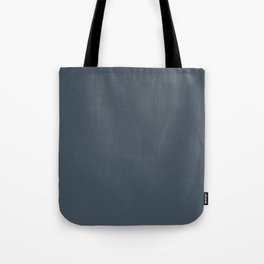 Orion Blue Grey Solid COlour Tote Bag