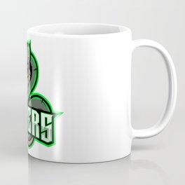 Green Viper Snake Mascot Logo Design Coffee Mug