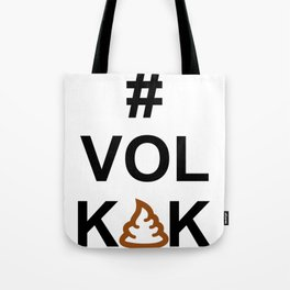 Vol KAK typography Tote Bag