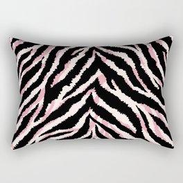 Zebra fur texture print Rectangular Pillow