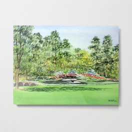Augusta National Golf Course 12th Hole Metal Print