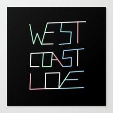 West Coast Love Canvas Print