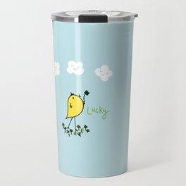 Chirp and Whistle Lucky Bird Travel Mug