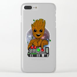 Dont PushGroot Clear iPhone Case