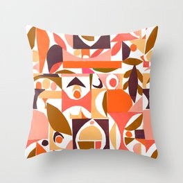 tango in the autumn ... Throw Pillow