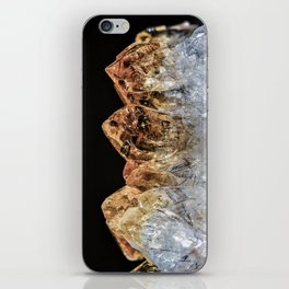 Fire and Ice Citrine crystals iPhone Skin