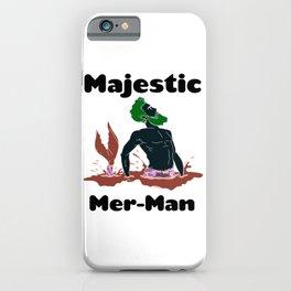 Majestic Mer man 7 iPhone Case