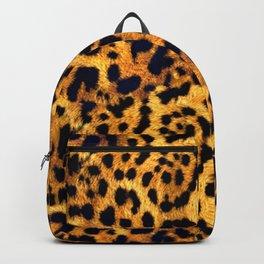 Fur Jaguar Pattern  Backpack