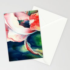 Tropical Iris Flower Stationery Cards