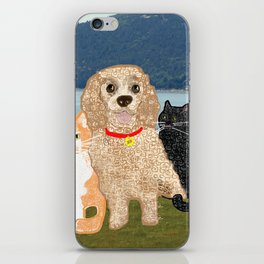 Bailey and Buds iPhone Skin