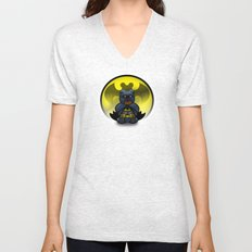 Super Bears - the Moody One Unisex V-Neck
