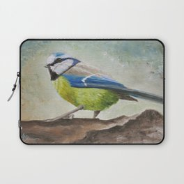 Blue Tit Laptop Sleeve