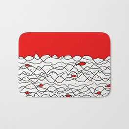 Fish and some other sea Bath Mat