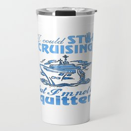 Cruise Lovers Travel Mug