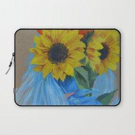 Sunflower Season Laptop Sleeve