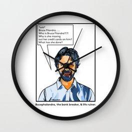 Bruce Filandra Wall Clock