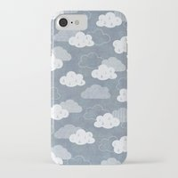 rain iPhone & iPod Cases featuring RAIN CLOUDS by Daisy Beatrice