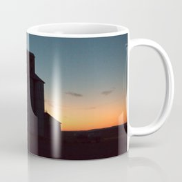 Silos at Sunrise Coffee Mug