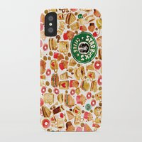 starbucks iPhone & iPod Cases featuring The Starbucks by Nacho Z. Huizar