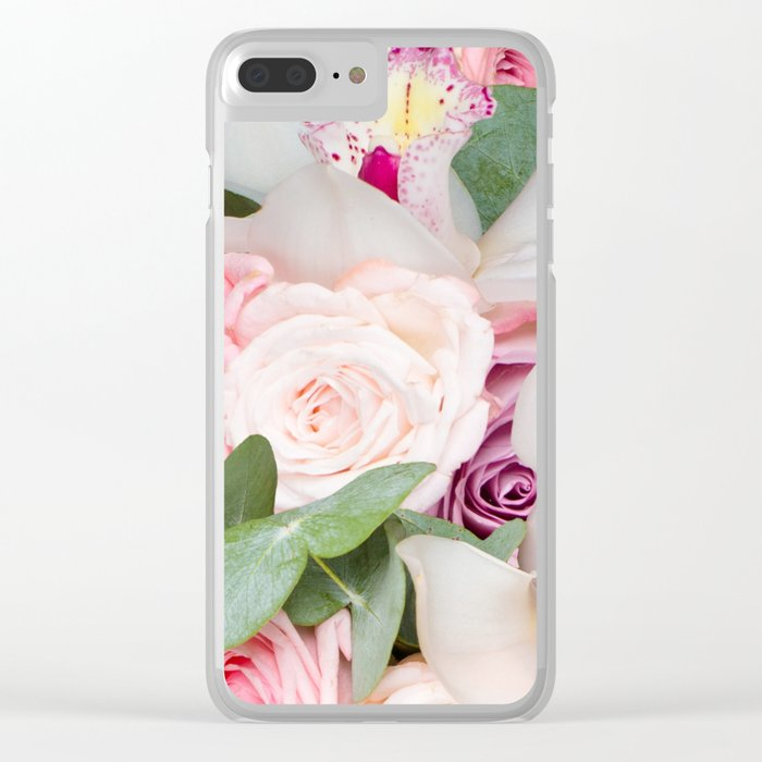 In a Giant's Flower Garden Clear iPhone Case