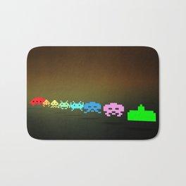 Space Invader - Pixel art Bath Mat