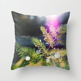 Fernytale Throw Pillow