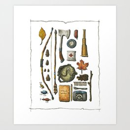 Little Camper Series No. 1 Art Print