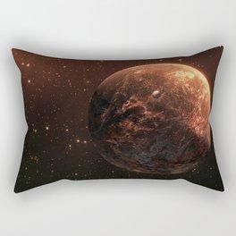 Red Planet Rectangular Pillow
