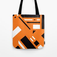 broadway Tote Bags featuring 7av. Broadway by Michal Gorelick