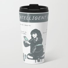 Hermione Granger / The Intelligent Girl Metal Travel Mug