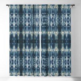 Boho Indigo Vibes Blackout Curtain